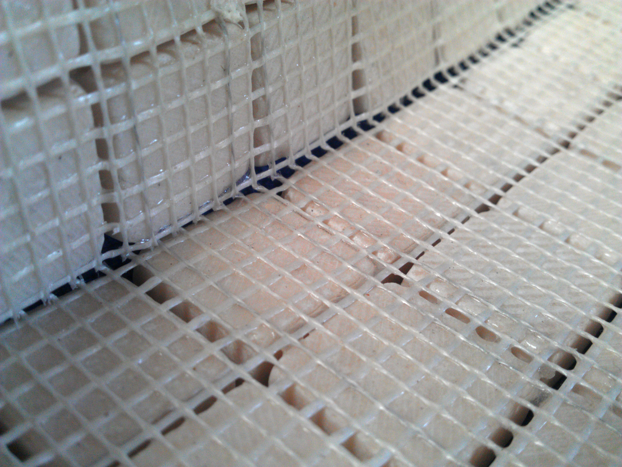 Mosaics – What is a mesh backing? | Tilestop's Tiling Blog