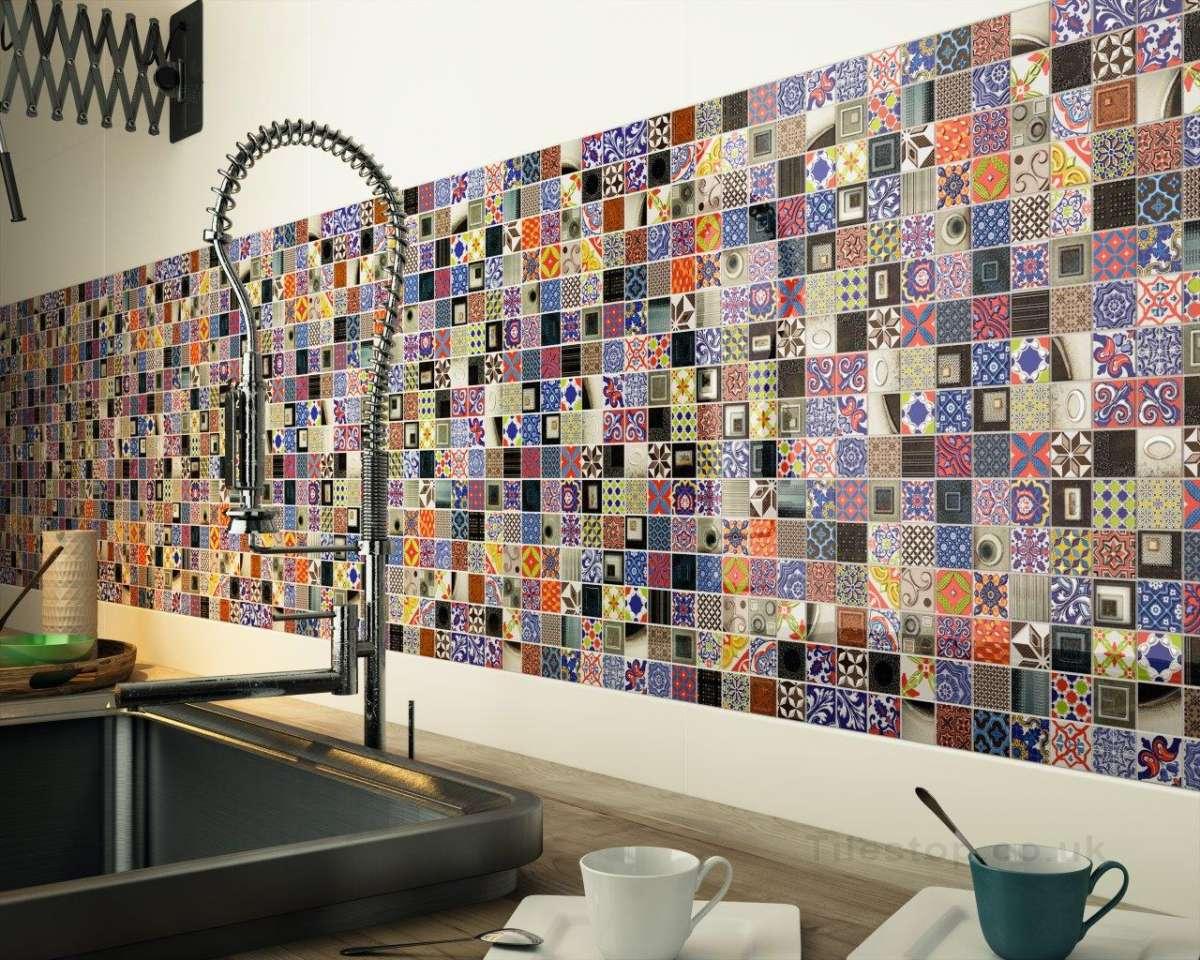Artisan Pop Art Mosaic