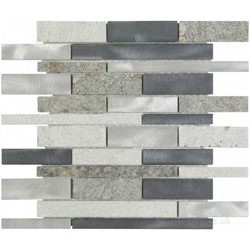 marble on bathroom floor dune thor aluminium brick effect 19398