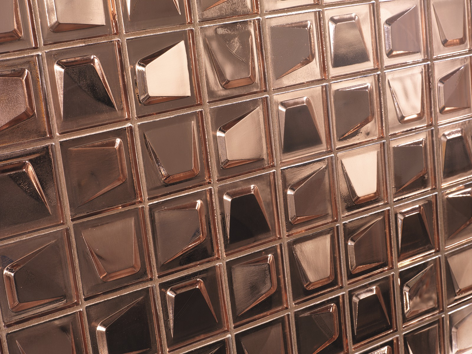 Kitchen Floor Tile Ideas Dune Cinema A Copper Coloured Glass Mosaic