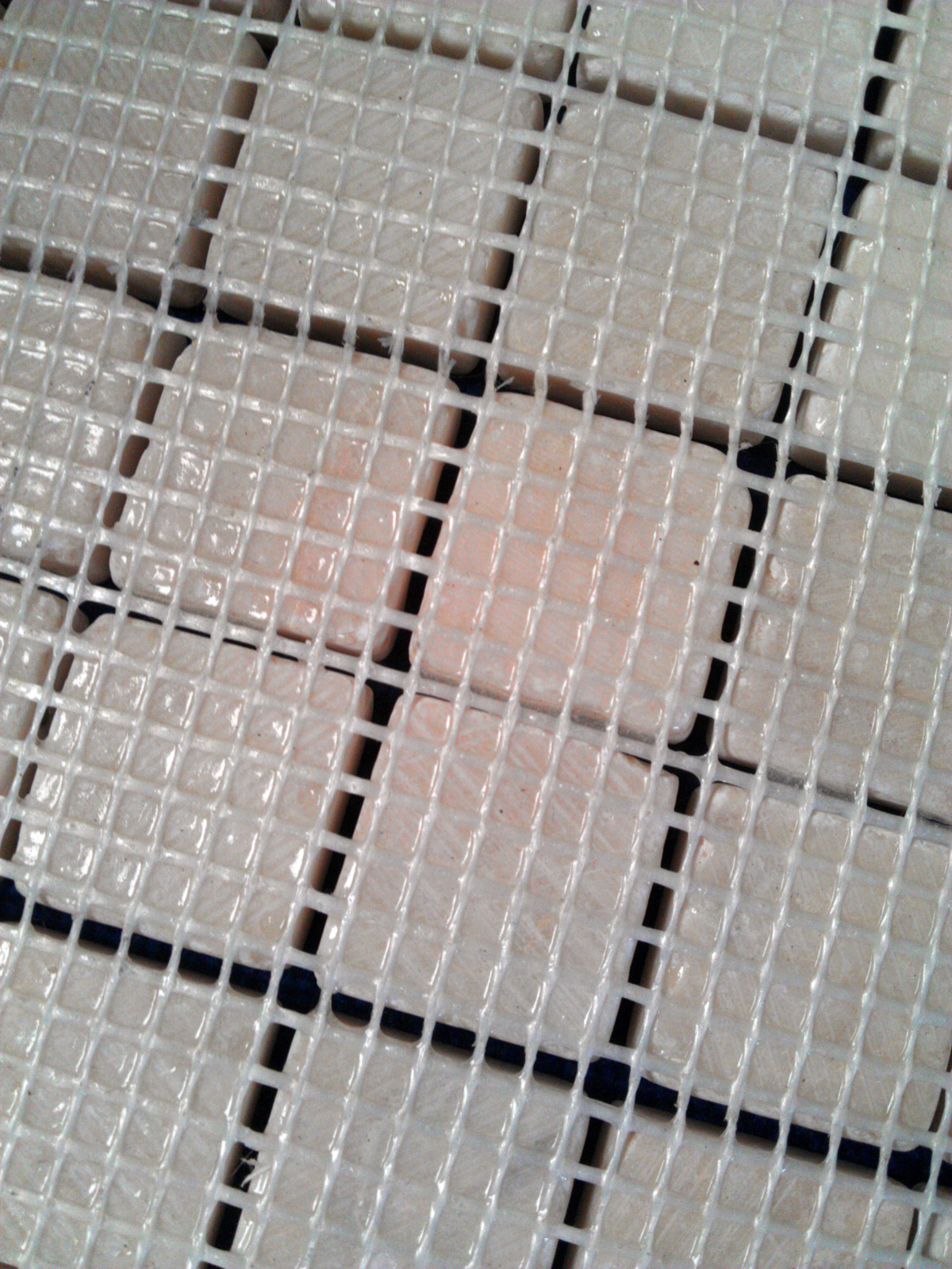 Mosaics What Is A Mesh Backing Tilestop