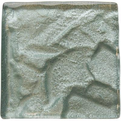 Aluminium glass tile