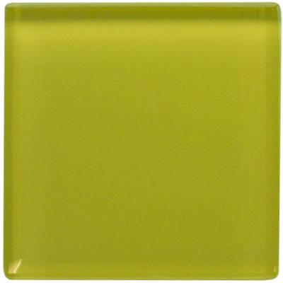 Yellow Daffodil Glass Tile