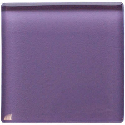 Purple glass insert 50 x 50mm