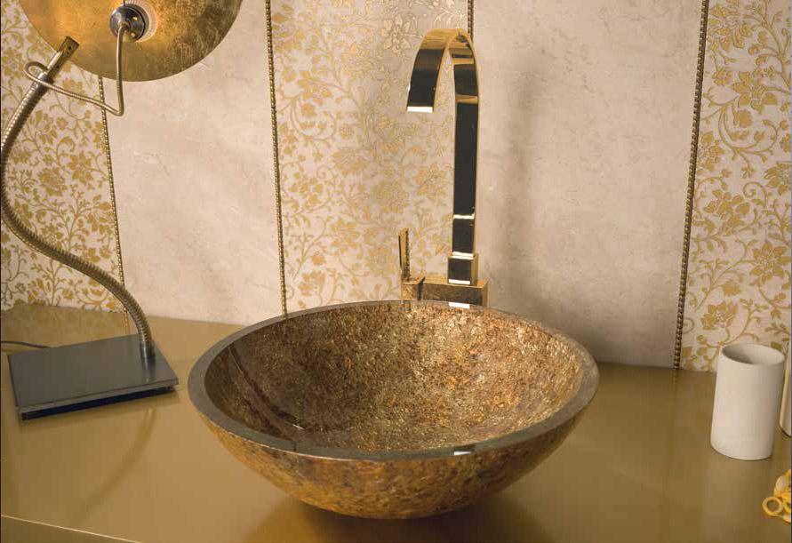 Dune Sinks Redondo Dorado Wash Basin