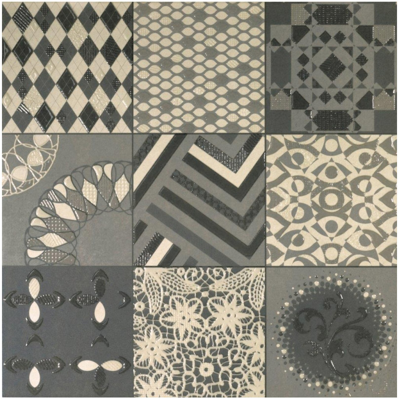 Tandem grey mosaic wall and floor tile for Tandem flooring