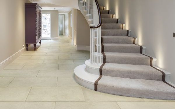Bergamo Limestone distressed