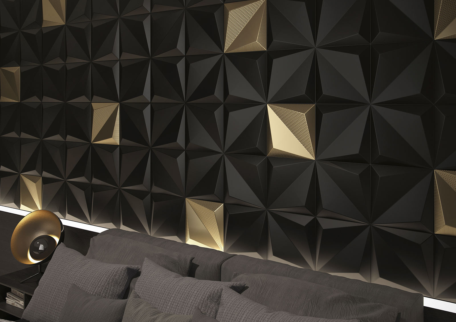 Origami Gold From Dune S Shapes Collection