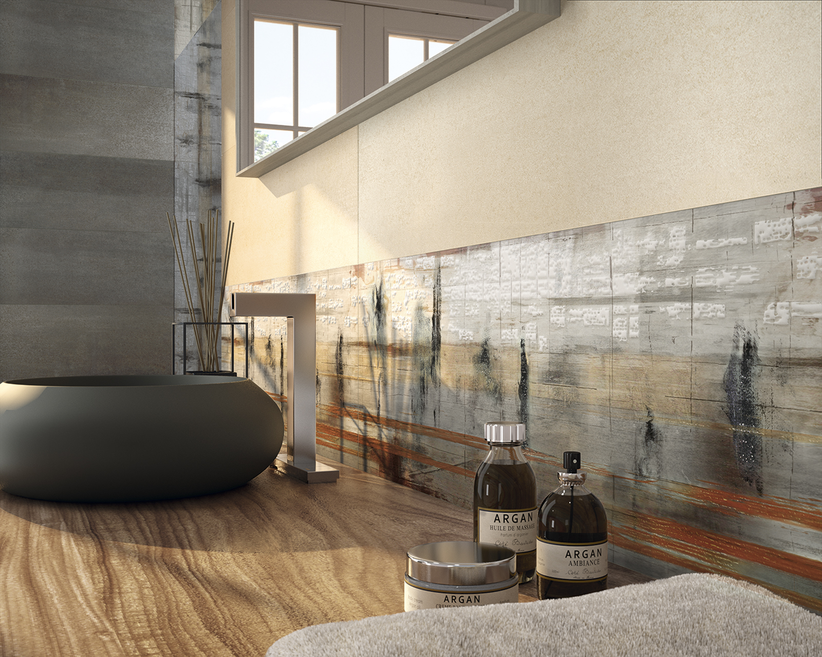 Large Form Factor Feature Wall Impressions By Dune