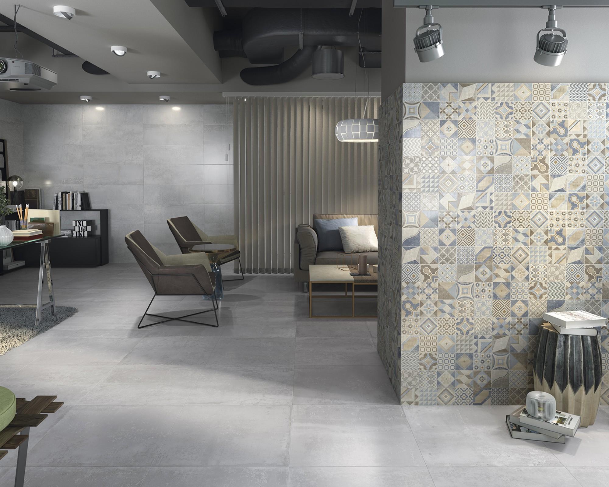 Fancy Grey Floor Tilestop