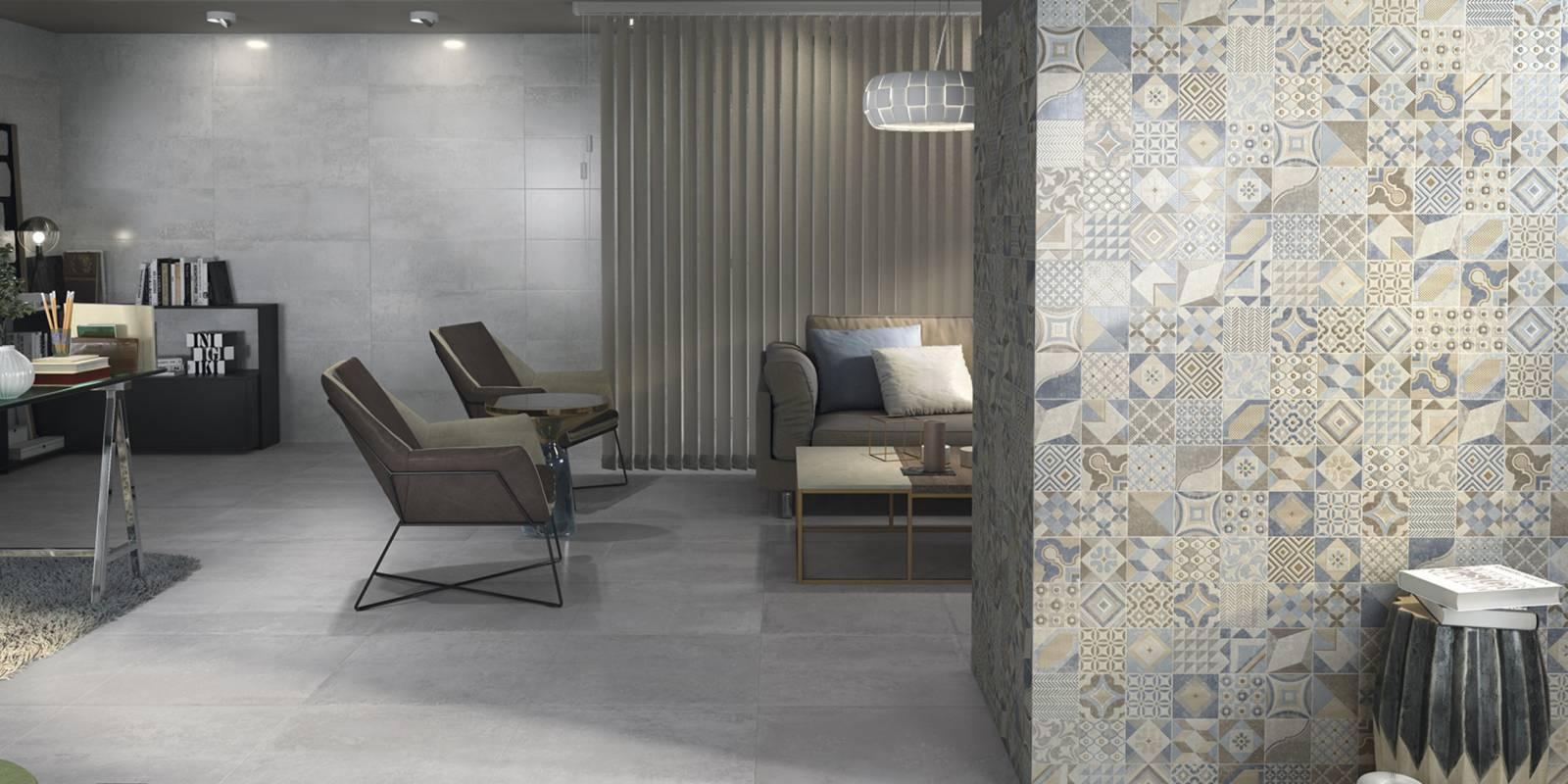 fancy grey floor